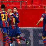 خلاصه بازی سویا ۰-۲ بارسلونا