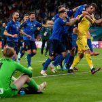 خلاصه بازی ایتالیا ۱(۳)-(۲)۱ انگلیس